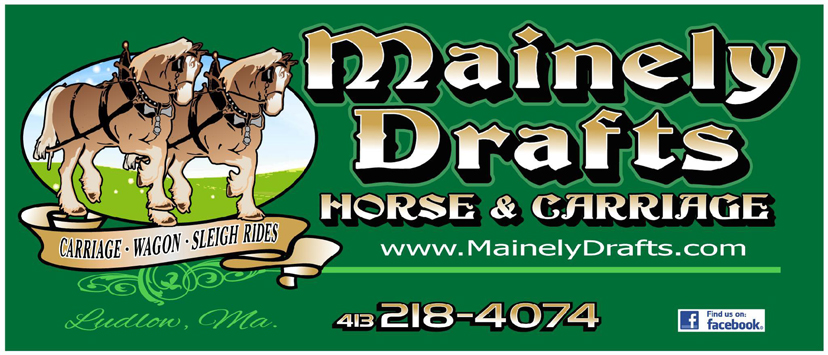 Mainely Drafts Horse Drawn Carriage Rides logo